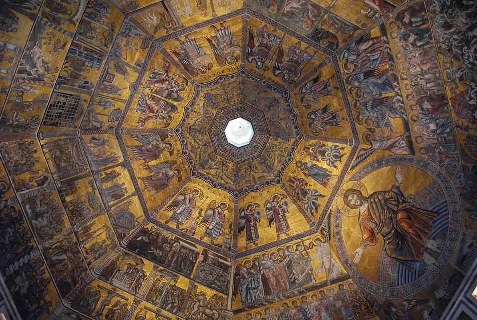 Kuppel, Italia, Kirche, Renaissance, Dom, Florenz