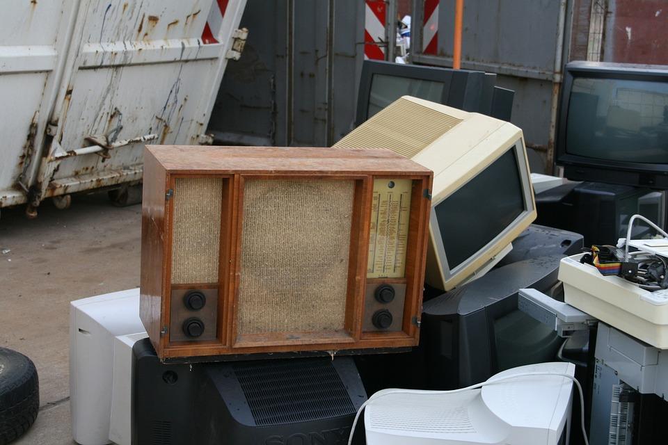 Stare Radio, Złom, E Odpadów, Recyklingu