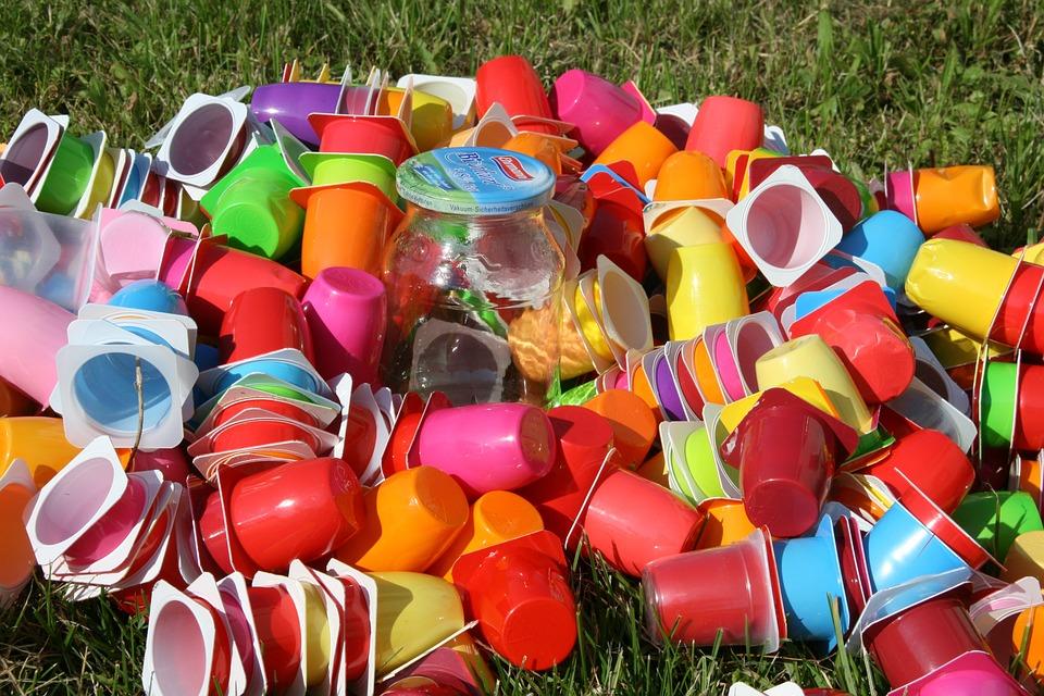 Мусор, Пластиковые Стаканчики, Переработка, Отходы