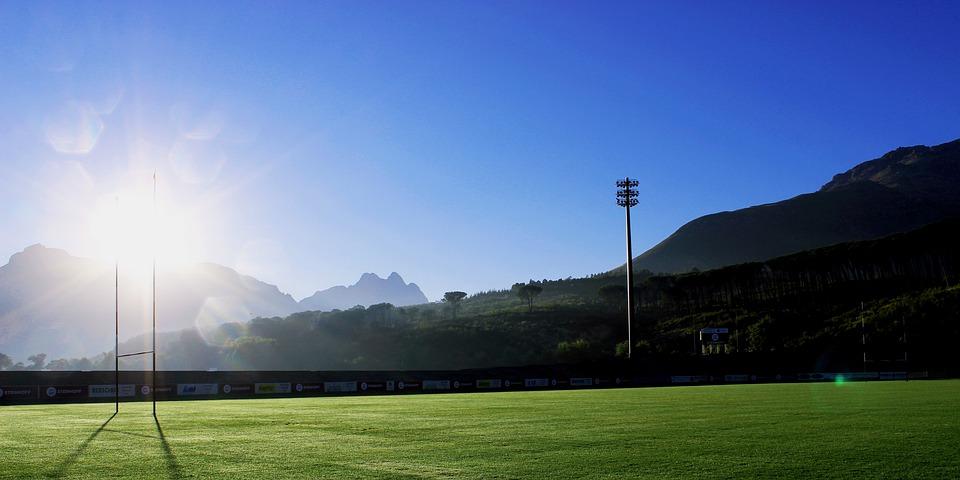 Sur Le Terrain, Rugby À Xv, Stade, Afrique Du Sud
