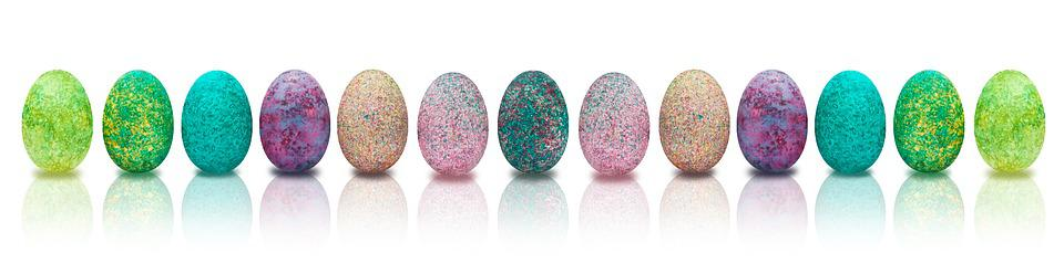 Banner, Easter, Egg, Colored, Colorful, Easter Egg