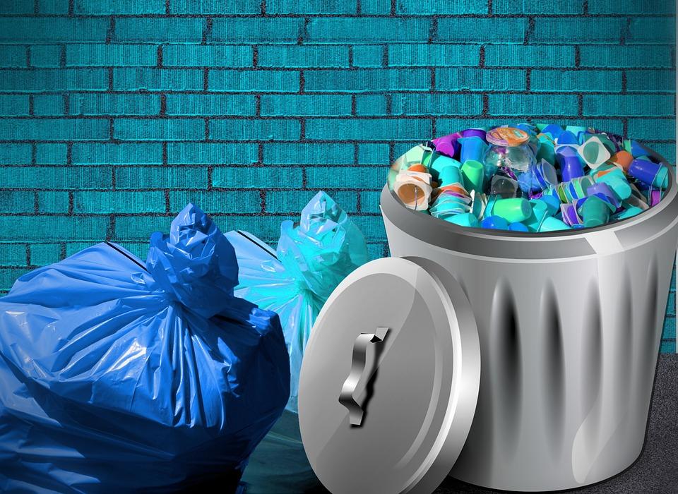 ゴミ袋, 廃棄, 非リサイクル廃棄物, ごみ, 環境, コンテナー, 処分, プラスチック, 包装