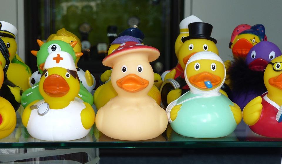 Rubber Duck Toys Bath Squeak · Free photo on Pixabay