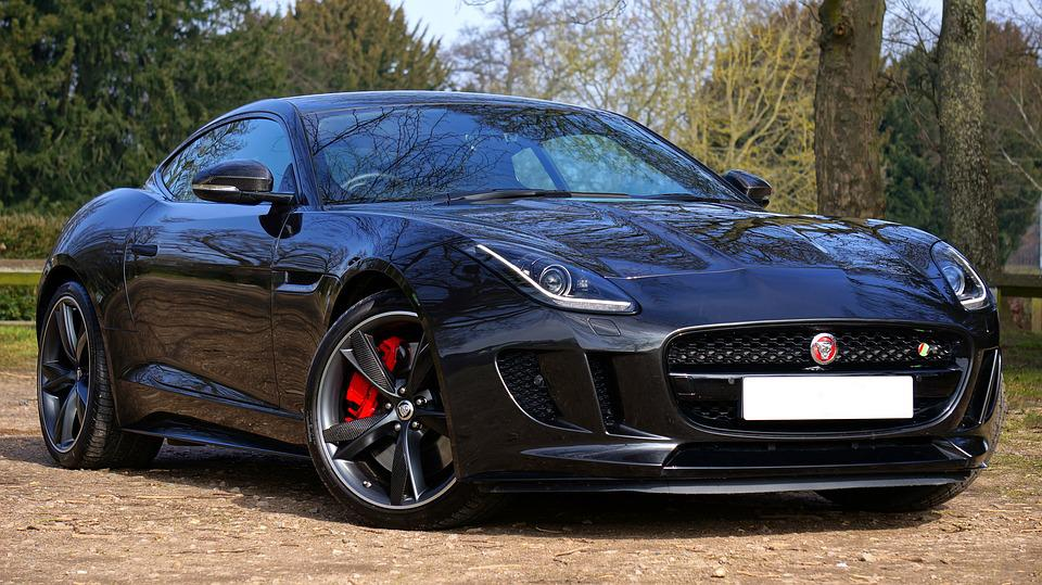 Jaguar Sports Car Fast Automobile F Type Luxury