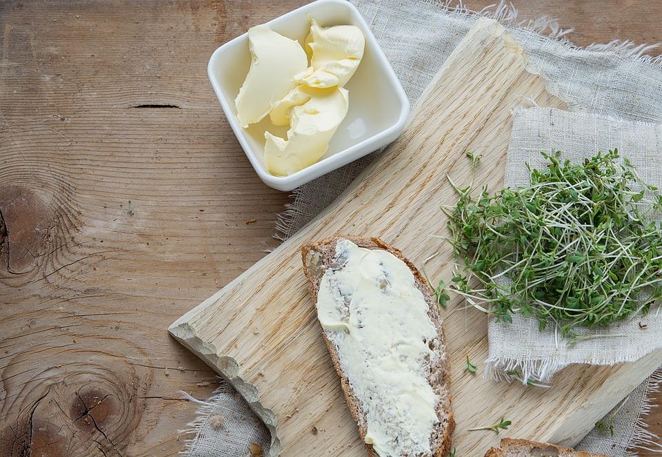Řeřicha Setá, Byliny, Zelená, Přírodní Produkt, Chléb