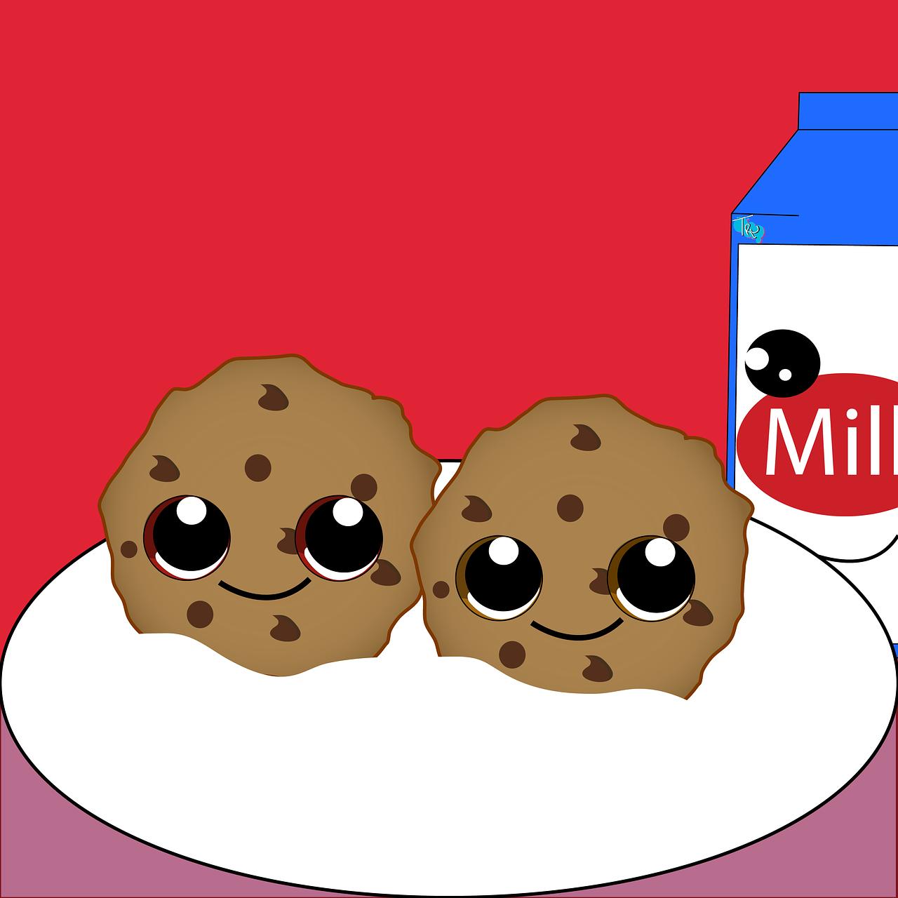 картинки молоко с глазками