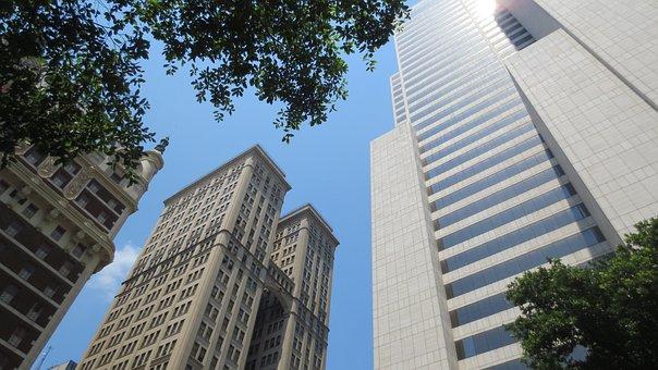 Ciel, Immeubles De Grande Hauteur