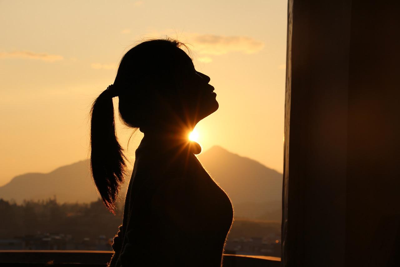 красивые фото женского силуэта