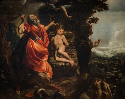 Abraham, Isaac, Bible, Sacrifice, Trial