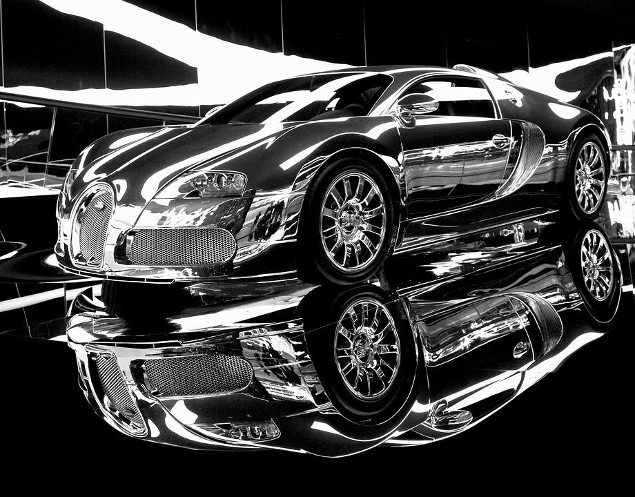 dream car sports car chrome expensive
