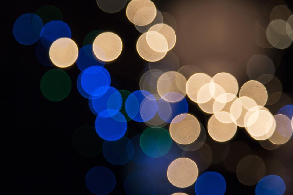 Glass Bulb Christmas Lights