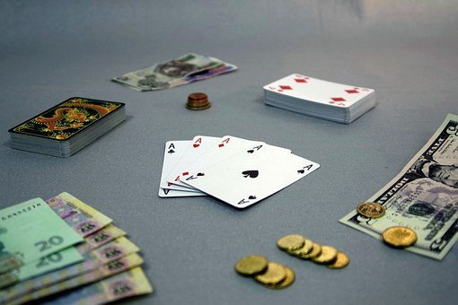 Gaming, Game, Card, Money, Casino, Poker