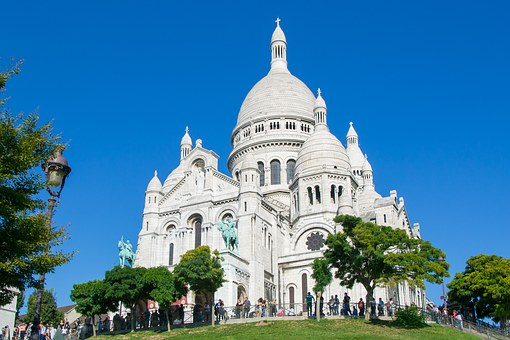 Sacré Coeur, Paris, France, Eglise