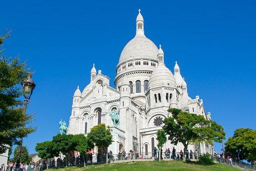 Sacré Coeur, Paris, France, Eglise