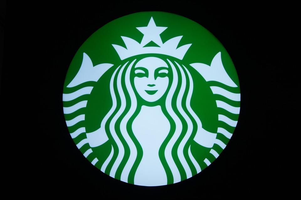 スターバックス, コーヒーショップ, コーヒー, シンボルマーク, ネオン