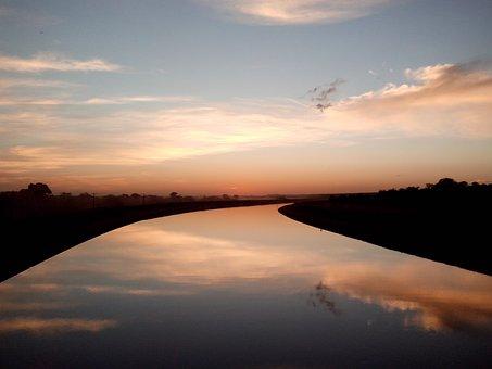 Wasser, Reflexion, Gelassenheit
