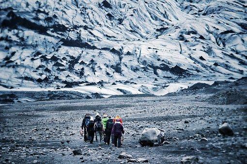 Randonnée Glaciaire, Glacier, Islande