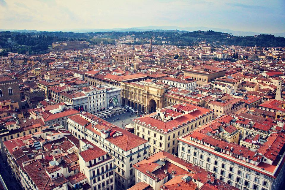 Firenze, Florence, Italy, Europe, Cityscape, Landscape