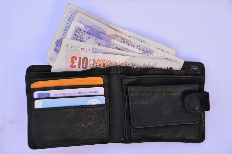 財布, お金, ファイナンス, 現金, オープン, 貯蓄, 革, 支出, 費やす, 予算, 経費, インフレ