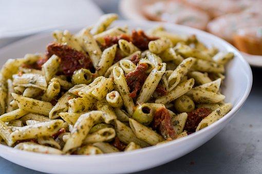 Pasta, Tomato, Italy, Italian, Olive