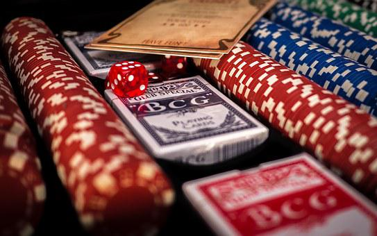 Poker, Blackjack, Casino, Black, Red