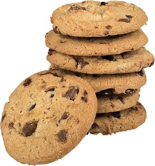 Cookies Chocolate Chip Cookies Stack Of Co