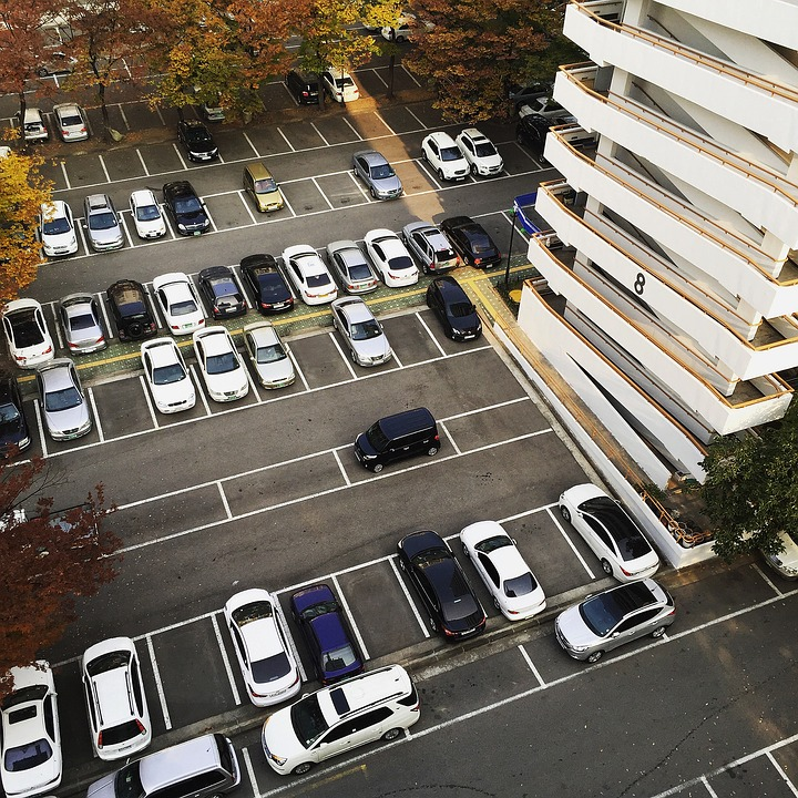 Image result for apartment parking lot