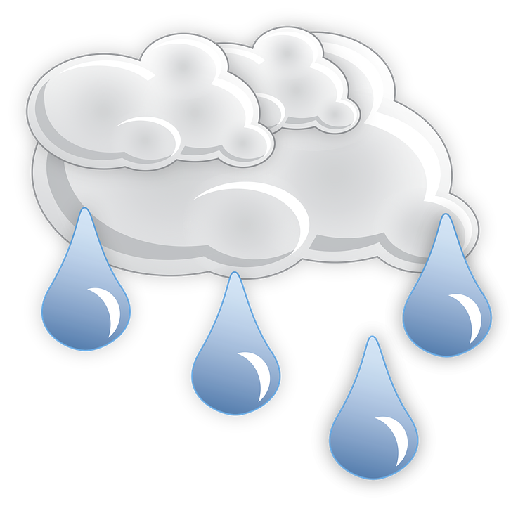 Pioggia, Nubi, Meteo, Scommessa Ricon, Icona, Piovoso