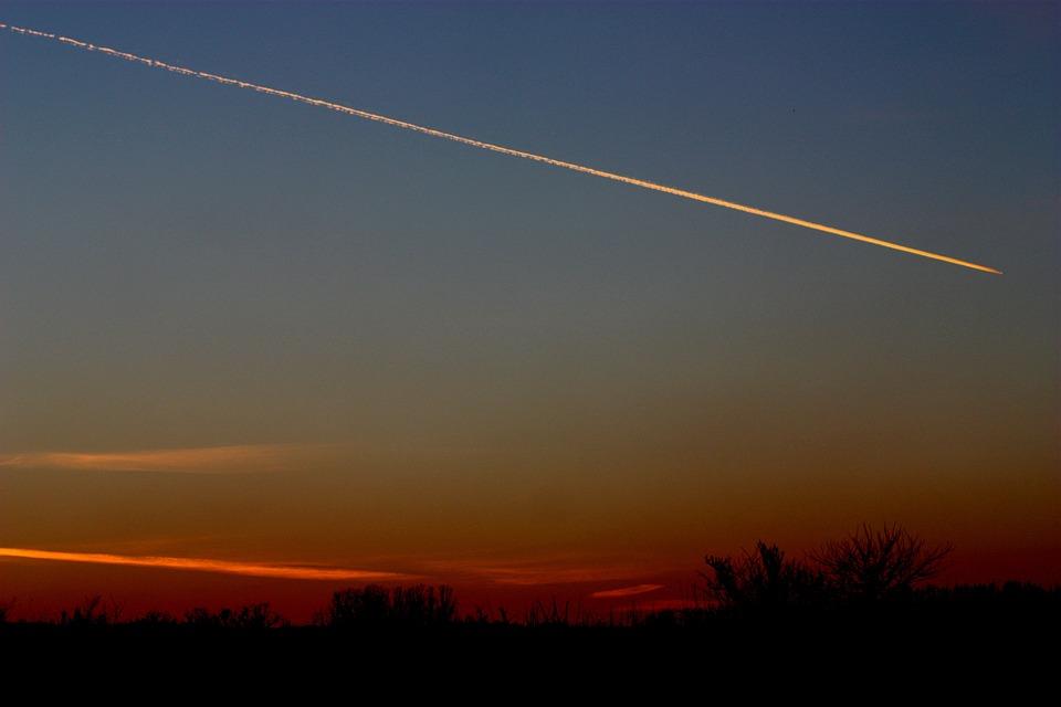 Matahari Terbenam Rudal Langit Foto Gratis Di Pixabay