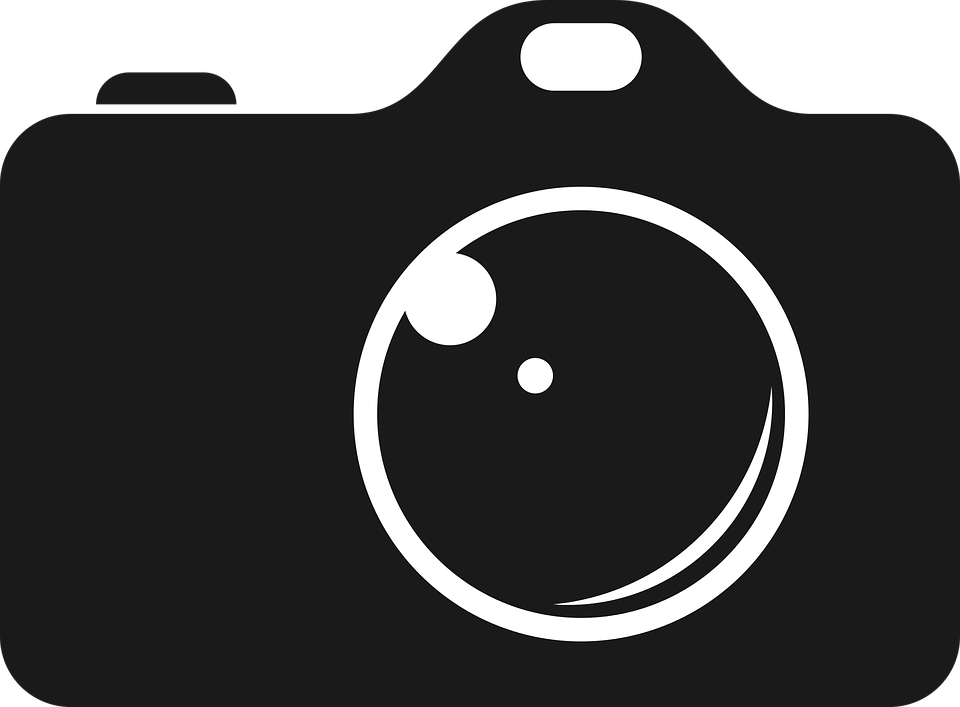 camera photo black 183 free vector graphic on pixabay