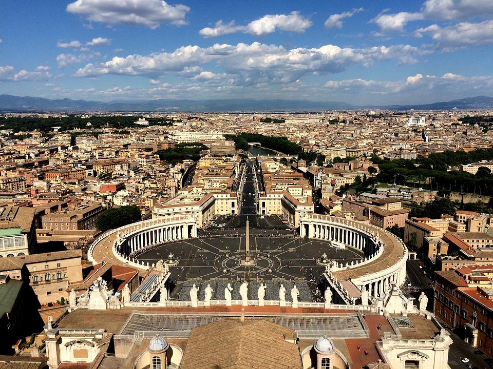 Vatican, Rome, Catholic, Architecture, Italy, Travel