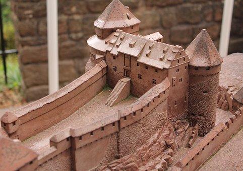 Castelo, Viagem, Europa, Turismo, Antigo