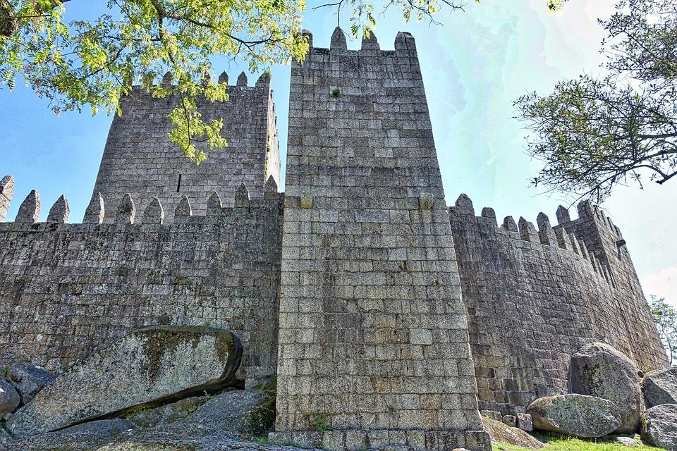 Embattlement Castle Wall 183 Free Photo On Pixabay