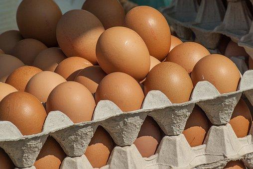 Market, Hens, Eggs