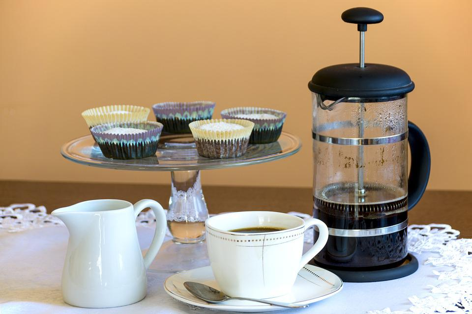 Muffin, Coffee, Coffee Maker, Afternoon Coffee