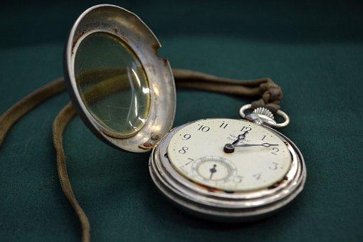 Montre, Temps, Pocketwatch, Lapin Blanc