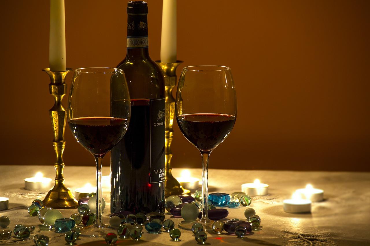 рекомендации вино свечи бокалы картинки желательно луковицу