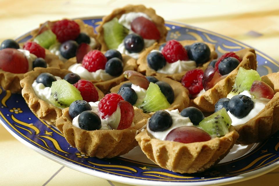 Den Kuchen Obst Creme Kostenloses Foto Auf Pixabay