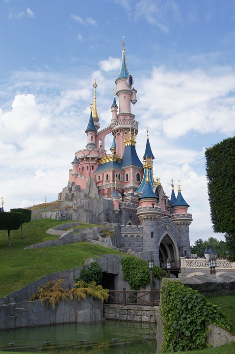 Photo gratuite ch teau princesse disneyland image for Image chateau princesse