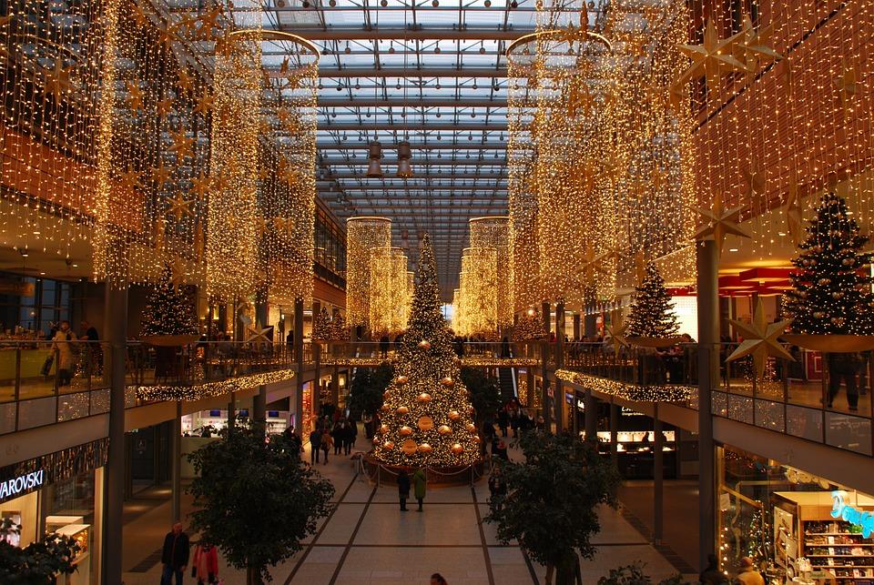 Berlin Christmas Shopping Mall Free Photo On Pixabay