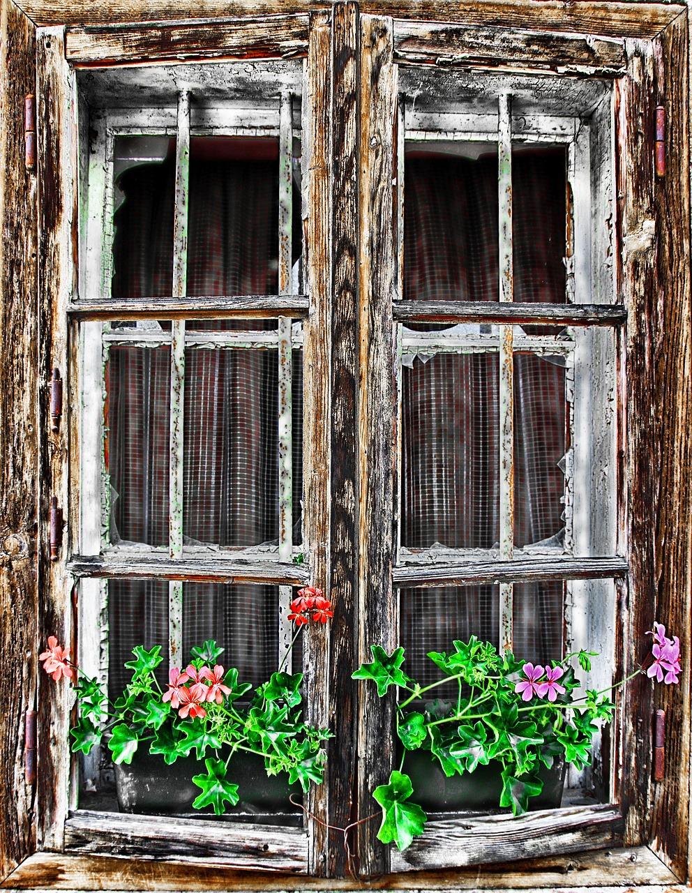 деревенские окошки картинки