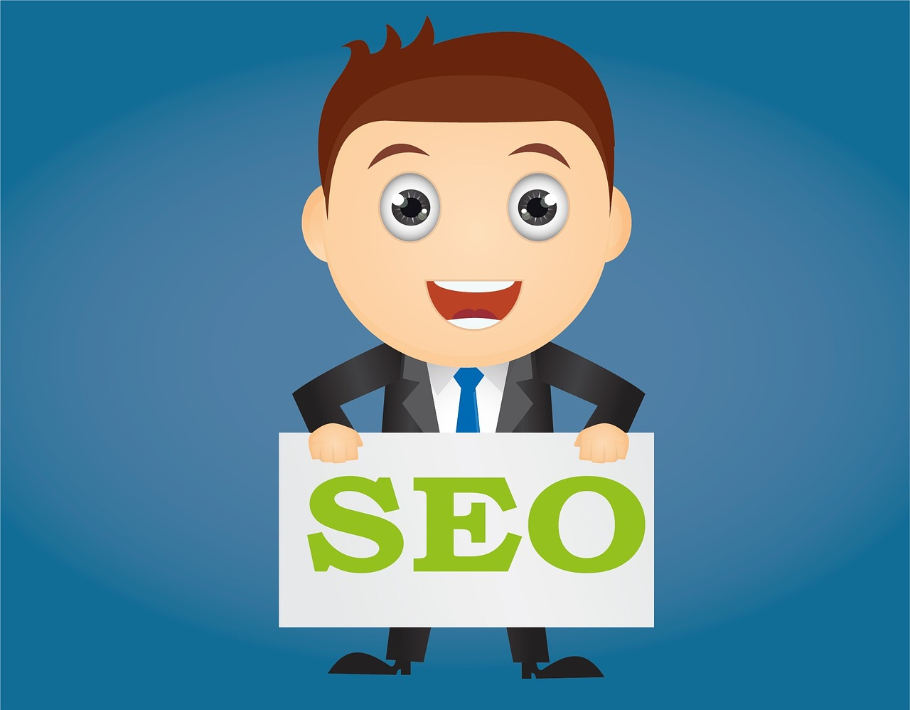 guy holding seo note