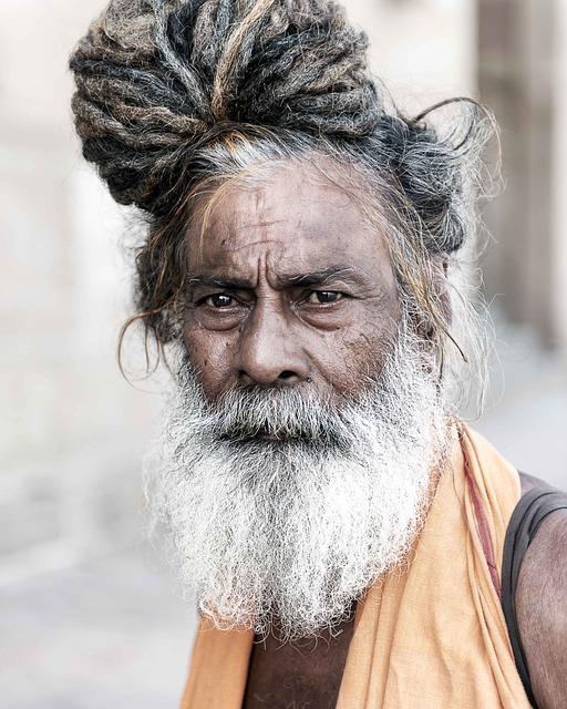 Portrait Sadhu Holyman...