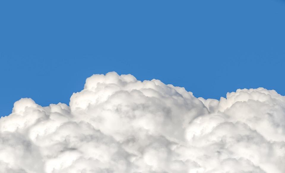 cloud cumulus fluffy free photo on pixabay