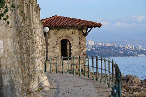 Walk, Sea, Promenade, Opatija, Croatia