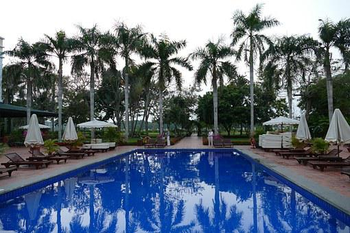 Swimming pool; Cultural hotels in Mauritius