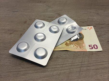 Money, Medical, Medications, Medicines