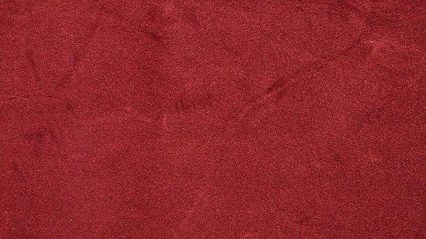 Texture Red Velvet Background Color Leathe