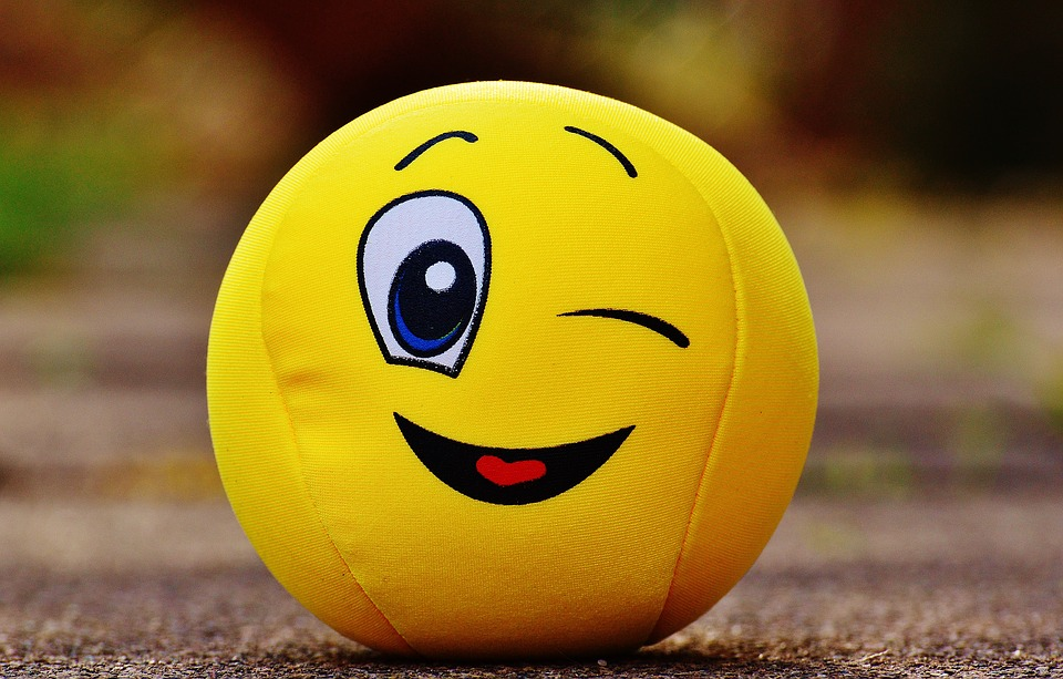 Photo Gratuite: Smiley, Clin D'Œil, Drôle, Jaune