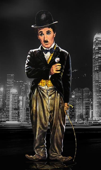 Free illustration: Chaplin, Charlie Chaplin, Melon - Free ...